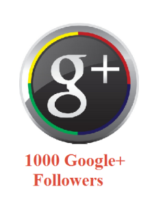 1000 Google+ Followers