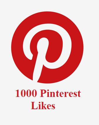 1000 Pinterest Likes