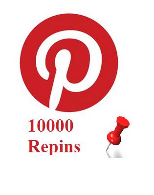 10000 Pinterest repins