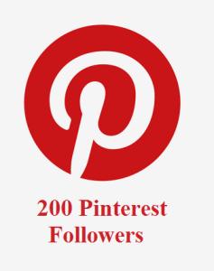 200 Pinterest Followers