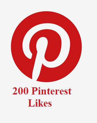 200 Pinterest Likes