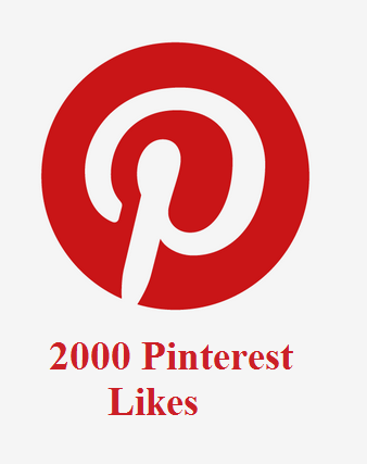 2000 Pinterest Likes