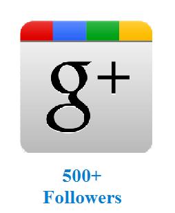 500+ Followers
