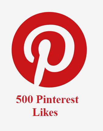 500 Pinterest Likes