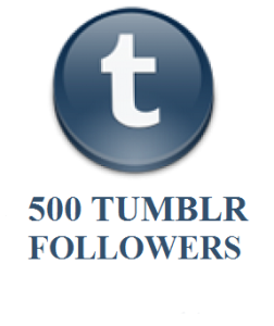 500 TUMBLR FOLLOWERS