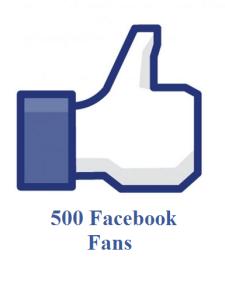 500 facebook fans