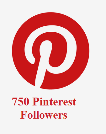 750 Pinterest Followers