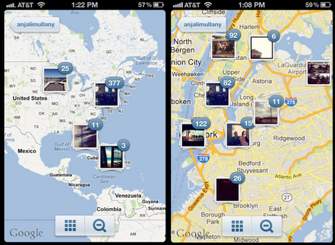 geo tags images on instagram