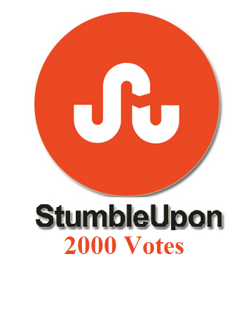 stumbleupon 2000 votes