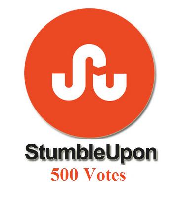 stumbleupon 500 votes