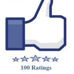100 facebook fanpage ratings