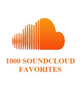 1000 SOUNDCLOUD FAVORITES