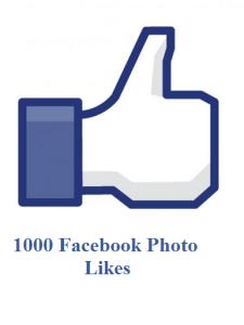 1000 facebook photo likes