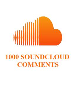 1000 soundcloud comments