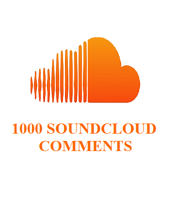 1000 soundcloud comments