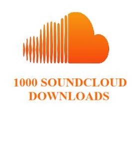 1000 soundecloud downloads