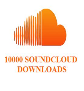 10000 soundecloud downloads