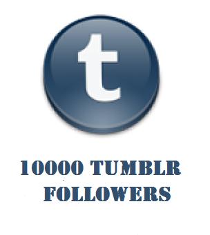 10000 tumblr followers