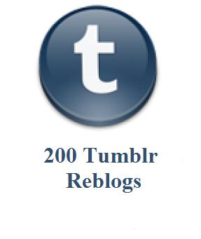 200 tumblr reblogs