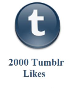 2000 Tumblr likes