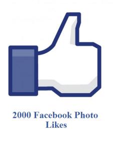 2000 facebook photo likes
