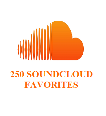 250 SOUNDCLOUD FAVORITES