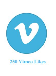 250 vimeo likes