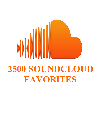 2500 SOUNDCLOUD FAVORITES