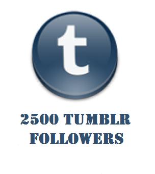2500 tumblr followers