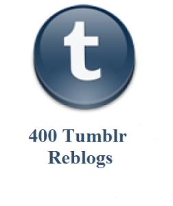 400 tumblr reblogs