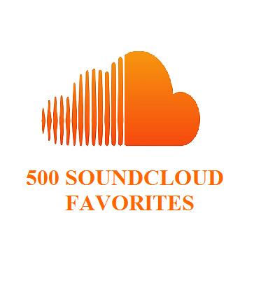 500 SOUNDCLOUD FAVORITES