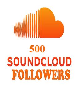 500 soundcloud followers