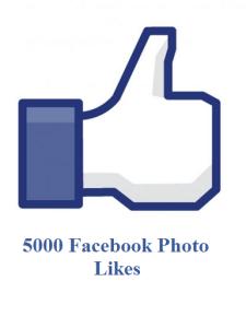 5000 facebook photo likes