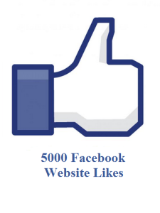 5000 facebook website likes