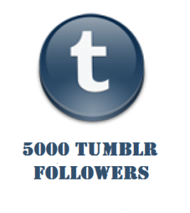 5000 tumblr followers