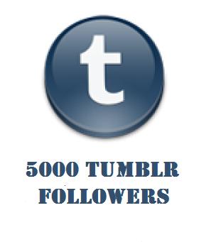 5000 tumblr followers