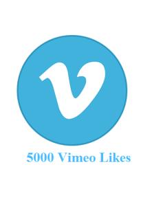5000 vimeo likes