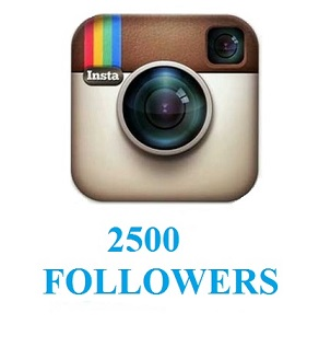 2500 followers