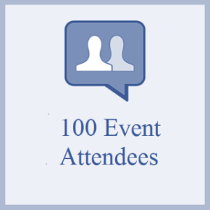 100 Facebook Event Attendees
