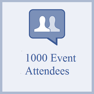 1000 Facebook Event Attendees