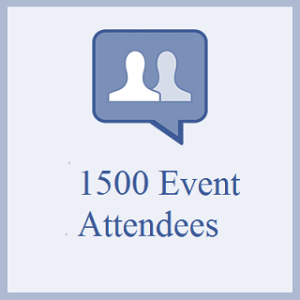 1500 Facebook Event Attendees
