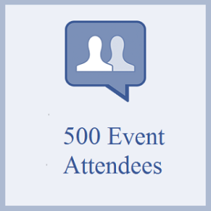 500 Facebook Event Attendees