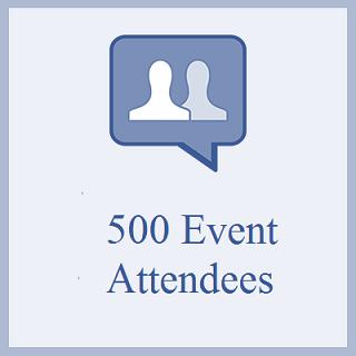 500 Facebook Event Attendees