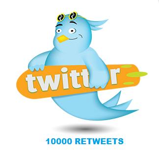 10000 RETWEETS
