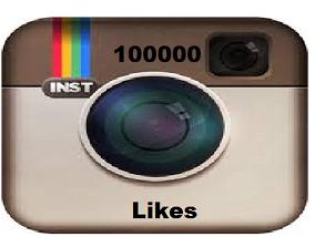 100000 Instagram Photo Likes.