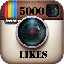 5000 Instagram Photo Likes
