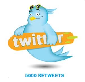 5000 RETWEETS