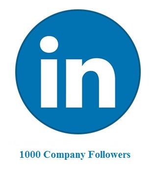 1000 Company Followers