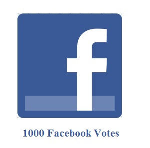 1000 Facebook Votes