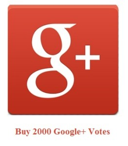 2000 Google+ Votes